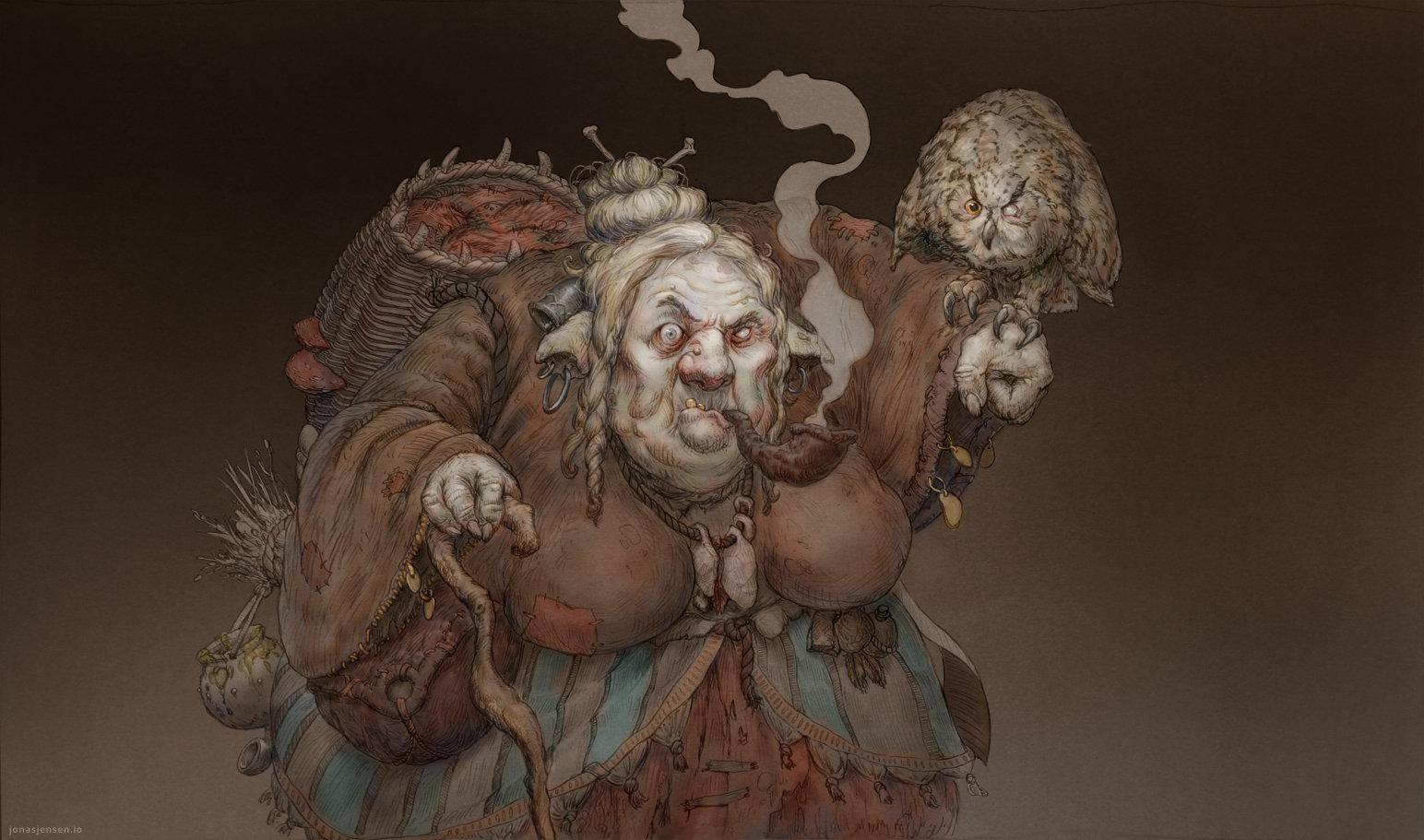 Goody Mooncup's Discount Witch Flea Market (5d10)